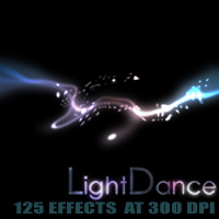LightDance Themed 2D And/Or Merchant Resources designfera