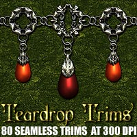 Teardrop Trims 2D And/Or Merchant Resources Themed designfera
