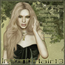 Instant Hair! 13 2D And/Or Merchant Resources ilona