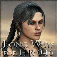 Long Ways for HR-046 Hair vikike176