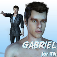 Gabriel for M4 3D Figure Essentials henrika_amanda