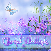 Charmed Woodlands 2 Themed 2D And/Or Merchant Resources Sveva