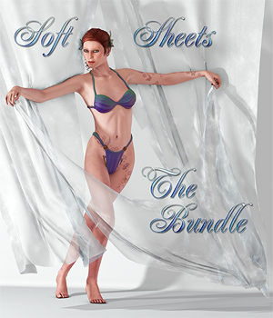 Soft Sheets - The Bundle 3D Models 3D Figure Assets SaintFox