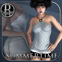Summertime Clothing for V4/A4/G4 3D Figure Essentials RPublishing