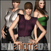HIGHFASHION: Enigma for V4/A4/G4 3D Figure Assets 3D Models outoftouch