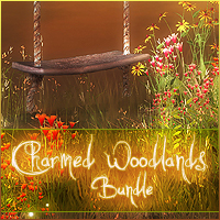 Charmed Woodlands Bundle 2D And/Or Merchant Resources Themed Sveva