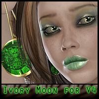Ivory Moon for V4 - jewels included  ForbiddenWhispers