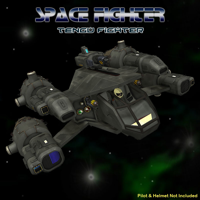 Tengu Space Fighter