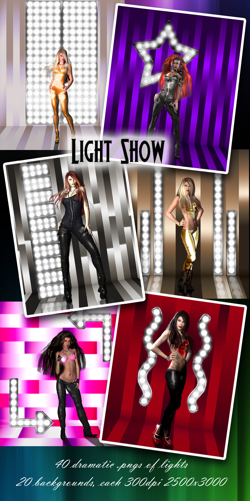 Light Show Backgrounds & FX