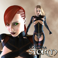 Natasha Storm V4 3D Figure Assets shaft73