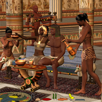 Party like an Egyptian 3D Figure Essentials 3D Models Simon-3D