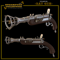SteamPunk - RayGun Themed Software Props/Scenes/Architecture jonnte