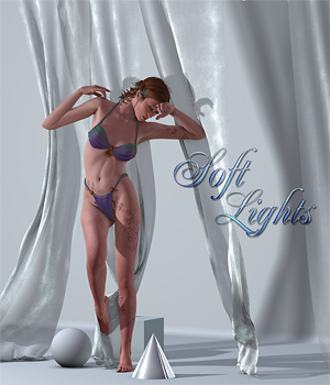 Soft Lights 3D Lighting : Cameras SaintFox