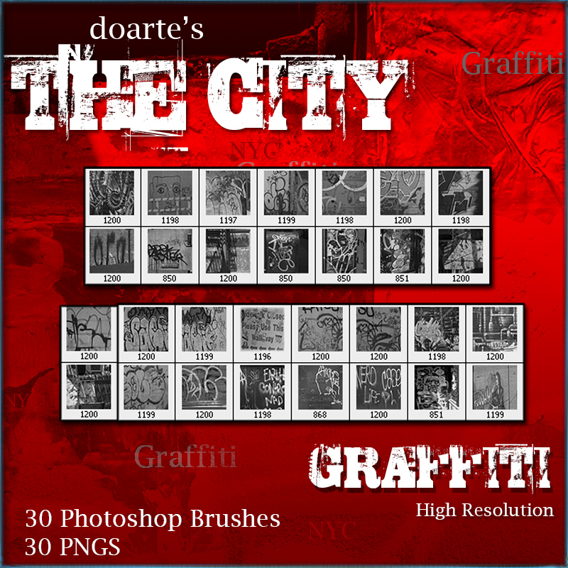 doarte's THE CITY - GRAFFITI