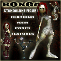 Bonga Stand Alone Figures Nursoda