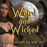 Weird and Wicked 3D Models 2D didi_mc
