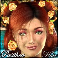 Pasithea Hair 3D Figure Essentials 3Dream