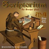 Scriptorium Themed Props/Scenes/Architecture pappy411