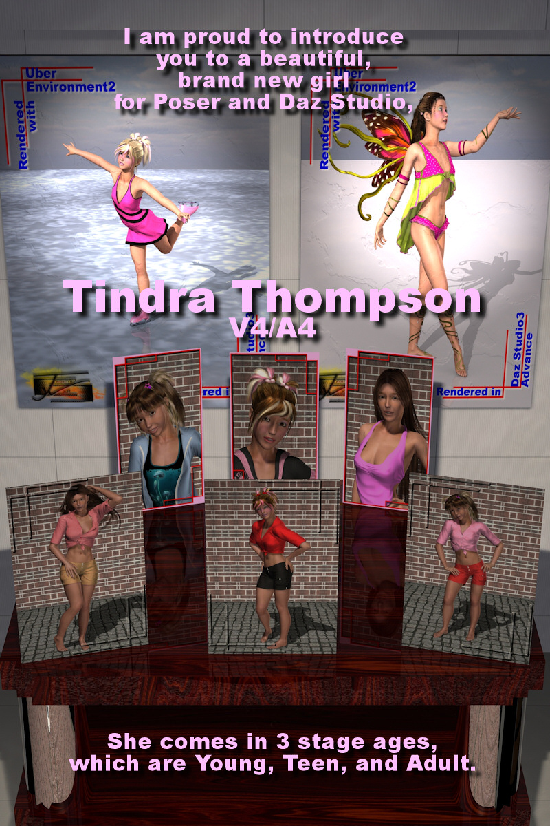 Tindra Thompson for V4/A4