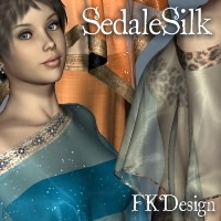 SedaleSilk  for HiddenWinds 3D Figure Assets fabiana