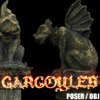Gargoyles - The Cub Props/Scenes/Architecture Themed designfera