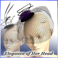 Elegance of her head 3D Models 3D Figure Essentials JTrout