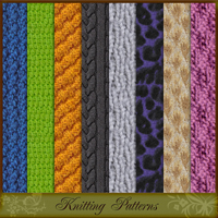Knitting Patterns 2D And/Or Merchant Resources Atenais