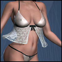 Breeze Lingerie & High Heels 3D Figure Essentials RPublishing