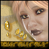Amber Solis for V4.2 - jewels included  ForbiddenWhispers