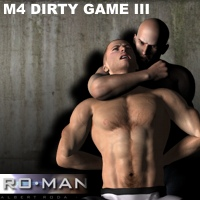 M4 Dirty Game III 3D Figure Essentials RO_MAN
