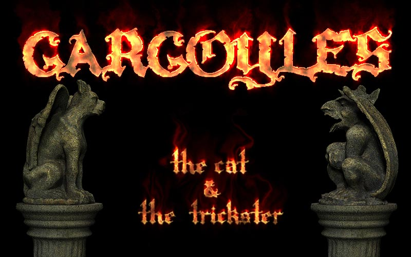 Gargoyles - Cat and Trickster