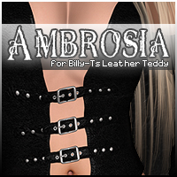 Ambrosia for Billy T's Leather Teddy Footwear Clothing Accessories Sveva