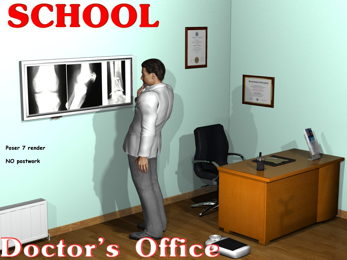 School Doctor's Office by greenpots