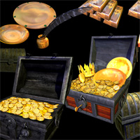 Pirate Captains Galley and Treasure image 3
