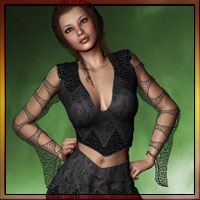 WitchHazel Outfit For V4/A4/Elite Clothing Software Themed prae