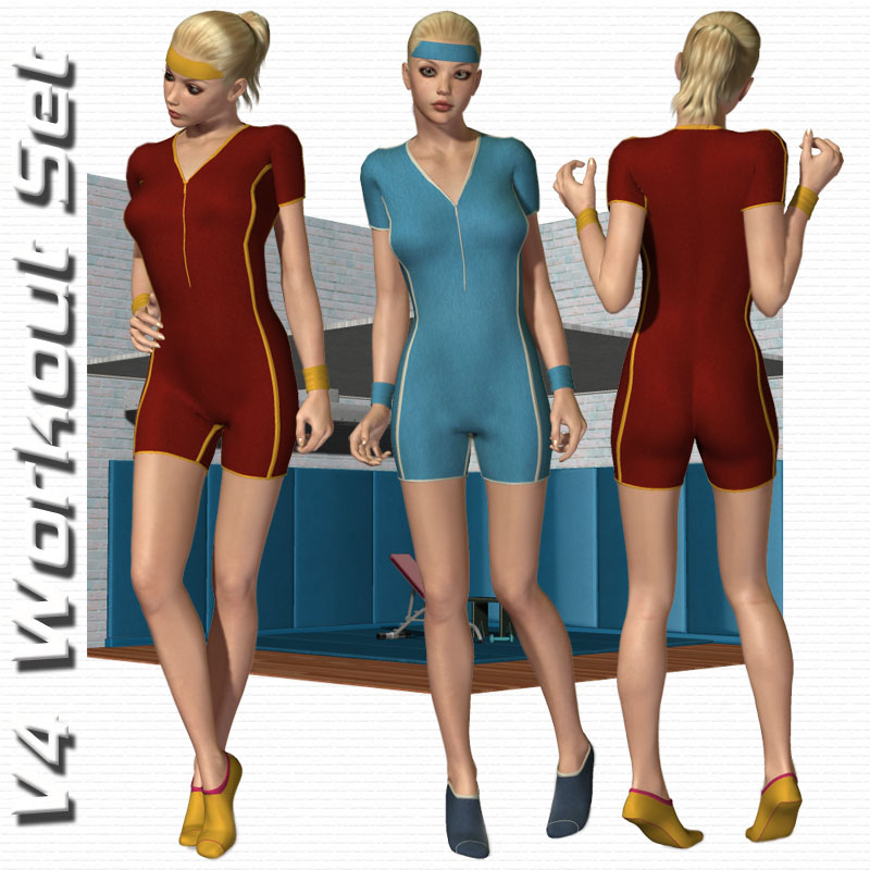 V4 Workout Outfit & Set