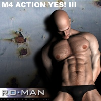 M4 Action Yes! III 3D Figure Essentials RO_MAN