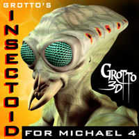 Grotto's Insectoid 3D Figure Assets 3D Models grotto