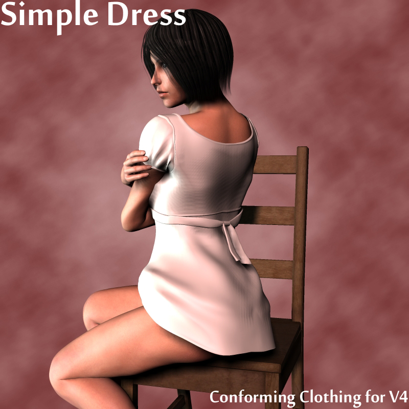 Simple Dress V4 by adamthwaites