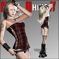 Wild Thing II Themed Clothing Pretty3D