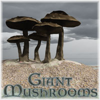 Giant Mushrooms 3D Models Swidhelm