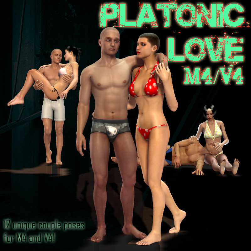 Platonic Love poses for M4-V4