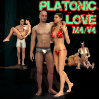 Platonic Love poses for M4-V4 3D Figure Essentials henrika_amanda