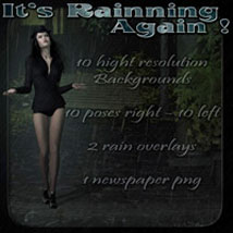 It's Rainning Again 2D 3D Models 3D Figure Essentials ilona