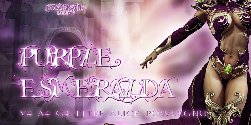 Purple Esmeralda by powerage