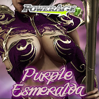 Purple Esmeralda Themed Clothing powerage
