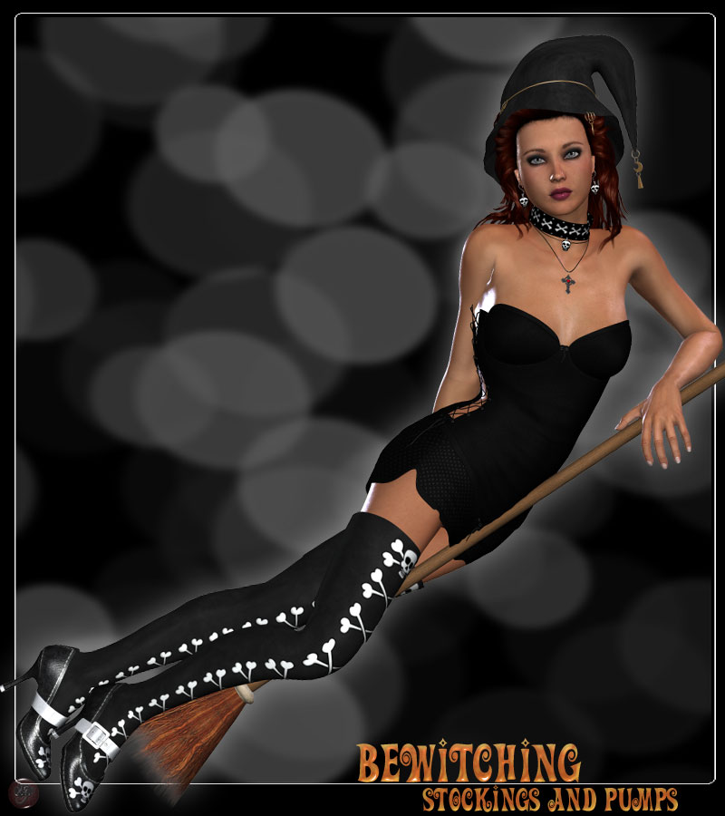 Bewitching Pumps and Stockings