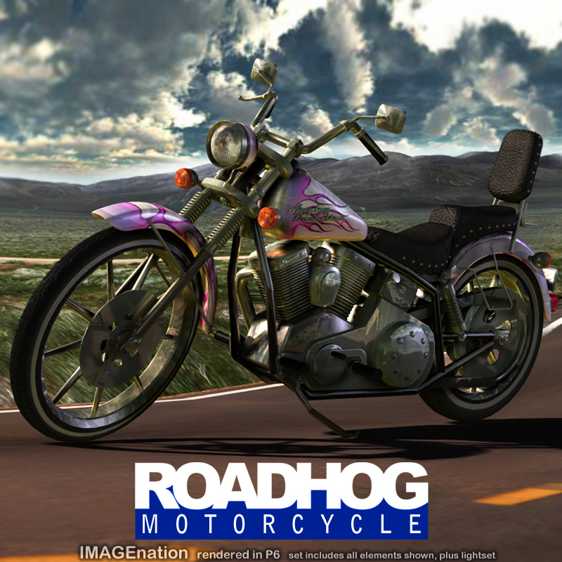 IN RoadHog Motorcycle