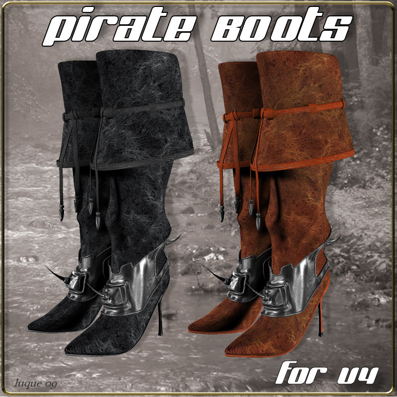 Pirate Boots for V4