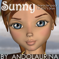 Sunny for Skye Characters Themed Stand Alone Figures andolaurina